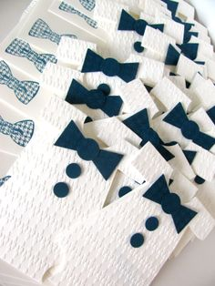 Bow Tie Themed Baby Shower | You can find out the supplies I used and see more pictures in my post ...