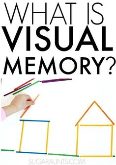 What is visual memory and why is it necessary for development of functional skills like handwriting and reading? Tips and activities from to work on visual memory in kids and adults. People on the Autistic spectrum have strong visual memory skills Visual Motor Activities, Visual Perceptual Activities, Therapy Activities, Sensory Activities, Ec 3, Improve Your Handwriting, Handwriting Practice, Pediatric Occupational Therapy, Vision Therapy