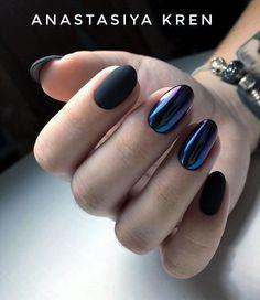 pιnтereѕт : @HerGuide Gelish Nails, Nail Manicure, Nail Polish, Fancy Nails, Cute Nails, Pretty Nails, Hair And Nails, My Nails, Nails 2018
