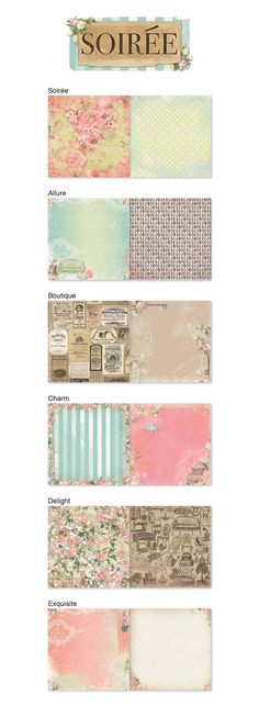 BoBunny: NEW Soiree Collection Preview!