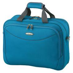 #Bordtasche d&n Travel Line 7404 bei Koffermarkt: ✓Polyester ✓auf Trolley aufsteckbar ✓Farbe: blau ⇒Jetzt kaufen