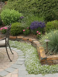backyard landscape | Small backyard landscaping - easy landscaping ideas for small front .../stones