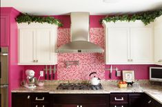 Now THAT'S a Pink Kitchen