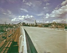 Downtown from Alaskan Way Viaduct, 1959 by Seattle Municipal Archives, via Flickr