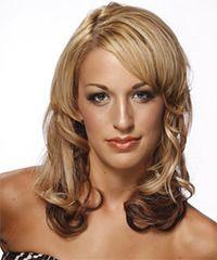 Salon Hairstyle: Formal Medium Wavy Hairstyle