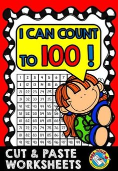 TO - AND : - ALIGNED : Counting to 100 has never been this fun! This fun resource includes 12 cut and paste worksheets containing attractive pictures which will surely motivate students! Different are included such as the sea, and more! Kindergarten Math Activities, Fun Math, Teaching Resources, Kindergarten Classroom, Learning Activities, Math Math, Elementary Math, Teaching Ideas, 100 Chart