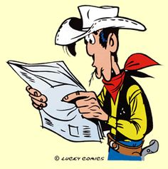 Lucky Luke Disney Cartoon Characters, Disney Cartoons, Fictional Characters, Bd Lucky Luke, Bd Comics, Classic Comics, Animated Cartoons, Graphic Novels, Book Series