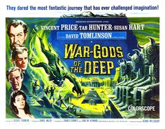 War-Gods of the Deep (The City Under the Sea), 1965, art by Reynold Brown