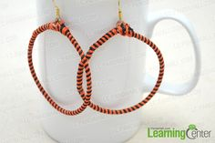 Halloween Earring Idea - Make Orange and Black Donut Candy Earrings- Pandahall.com
