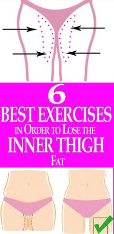 6 Best Exercises in Order to Lose the Inner Thigh Fat
