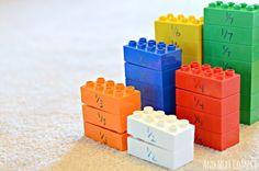 Aprendendo Matemática com Lego | Mamãe Plugada