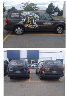 All dressed up and ready to go. Kalsamrit Gym Bowmanville  Digital print and contour cut graphics, in addition to perforated vinyl rear window graphics.  #vehiclegraphics #mobilebranding www.SpeedproDurham.ca