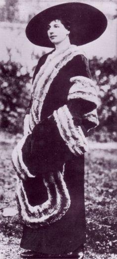#MataHari | 'Lady MacCleod' | November 1911 | during the Steeple Militaire in Paris
