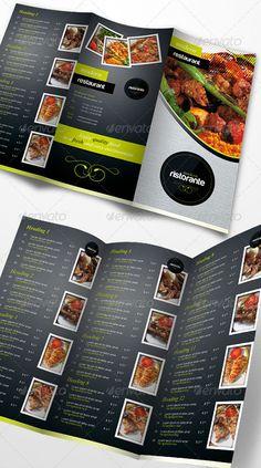 brochure (para poner en la bolsa junto con la compra) Menu Design, Print Design, Graphic Design, Brochure Food, Brochures, Packaging Design, Banner, Design Inspiration, Branding