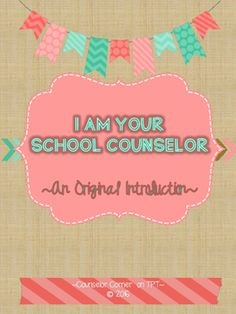 I created this unique introduction poem as a fun and kid-friendly way to introduce myself as school counselor as I begin working with students. These printables would be perfect framed in your classroom, office, or hallway. You could also post them in your counseling center or add them into your counselor binder!