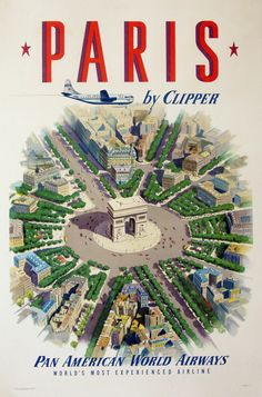 Pan American Airlines Posters | Pan Am and the Glamour of Mid-Century Air Travel | Vintage European ...