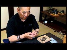 Tying flies with no vise Katsutoshi Amano tenkara fly-tying