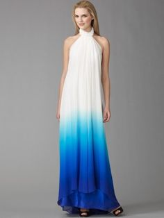 Lindo! To wear this dress I would have to wear super duper high heels haha