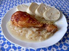 Pečené kuře jinak Baked Potato, Pork, Cooking Recipes, Menu, Chicken, Baking, Ethnic Recipes, Kale Stir Fry, Menu Board Design