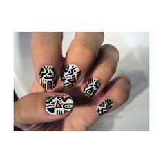 Leaf art, Nails and Autumn leaves on Pinterest