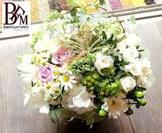 花ギフトのプレゼント【BFM】 白にしかだせない優しさと明るさそんなフラワーアレンジメント