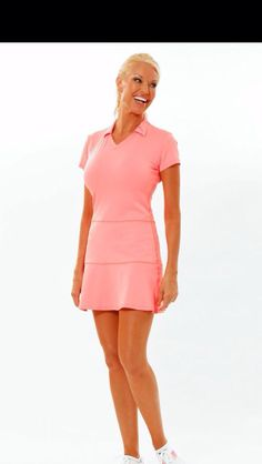 Ellabelle.com.  Adorable golf and tennis dress in coral!