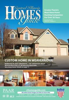 """The MONTH-LONG issue is now online!! The December 20, 2013 issue of the Central Illinois Homes Guide will be out for one month instead of its usual two weeks. That makes this issue filled with even more great homes! Make sure to keep an eye on the """"Just Added"""" section for new listings! #CentralIL #Peoria #IL #homesforsale #realestate #CIHG #homes"""