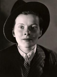 Katharine Hepburn in a promo shot by Ernest Bachrach for Sylvia Scarlett c.1935