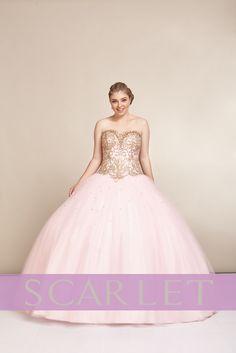 51d5303c8 ¿Quieres verte como toda una princesa en tu fiesta de XV  Usa un Vestido  stapless en escote corazón