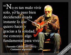 Facundo Cabral, cantautor argentino
