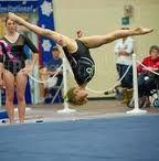 Gymnastics. Thats my kid! Nev's front Aerial #gymnastics #aerial