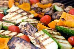 Cómo hacer verduras asadas a la parrilla #recetas #verduras #hortalizas