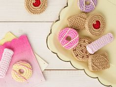 How to make crochet biscuits
