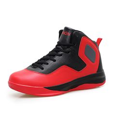 New Men Basketball Shoes 2016 Big Size Sport Shoes Training Boots Leather Mens High Top Sneakers Size 11 12 Basketball Shoes