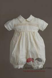 Resultado de imagen para ropones de bautizo para niño