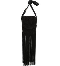 CROSSBODY FRINGES CAMURÇA BLACK ---  Because I like fringes sooo much!