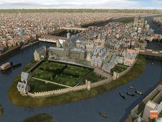 Le Louvre, l'Hôtel de Ville ou Notre Dame présentaient des visages différents au Moyen Age. Voici des images de synthèse qui permettent de découvrir la ville de Paris telle qu'on ne l'a jamais vue. Passionnant.