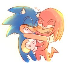 Sonic & Knuckles, Echidna, Sonic The Hedgehog, Nintendo, Fanart, Gay, Ships, Pretty, Fictional Characters