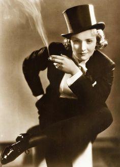 Famous Harlots in History: Marlene Dietrich   Wine Harlots