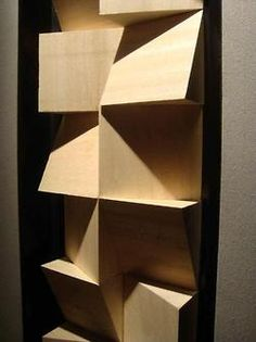 a new vocal booth with new acoustic diffusers / recording studio