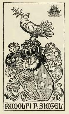 heraldic ex libris - Buscar con Google