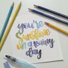 #day17 of #letteritbetterapril ☀️ With @megannicolelettering @thepaperfern and @chickadeedixie ✨ • • • • #typography #typewriter #handlettering #handletteringtype #lettering #watercolor #tombow #moderncalligraphy #brushlettering #instalettering #letteringart #brushpenlettering #calligraphy #calligraphyart #calligraphydaily #handwriting #quotes #blending #blend #tombow #calligrabasics