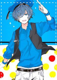 Yo Vocaloid fans, I'm pretty sure this is Soraru :^)) -rorotoru Anime Oc, Kawaii Anime, Anime Guys, Anime Style, Vocaloid, Anime Boy Smile, Manga Hair, Persona 5 Joker, Tsundere