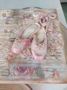 Ballet Shoes, Dance Shoes, Decorated Boxes, Ballet Flats, Dancing Shoes, Ballet Heels, Pointe Shoes, Dancing Girls, Ballet Shoe