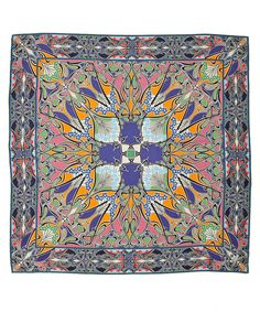 love these colors and the art nouveau pattern. Liberty Scarf, Art Nouveau Pattern, Liberty Print, Work Inspiration, Textile Patterns, Up Styles, Branding Design, Unique Gifts, Silk Scarves