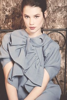 Astrid Berges Frisbey. also want to have that face