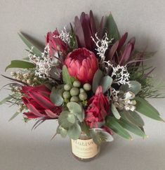 Native Flowers free delivery Protea, Leucadendron, Brunia, Gumnuts, Smokebush, Qld Forest Lace, Eucalyptus Australian Wildflowers, Australian Native Flowers, Table Arrangements, Floral Arrangements, Amazing Flowers, Colorful Flowers, Flower Graphic, Floral Photography, Flower Delivery