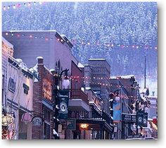 Main Street, winter in Utah. There's nothing like it.