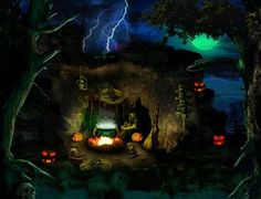 1000 images about halloween on pinterest halloween - Scary halloween screensavers animated ...