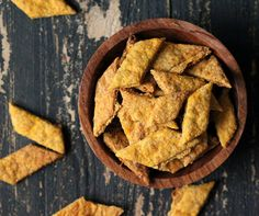 Butternut Rosemary Onion Crackers